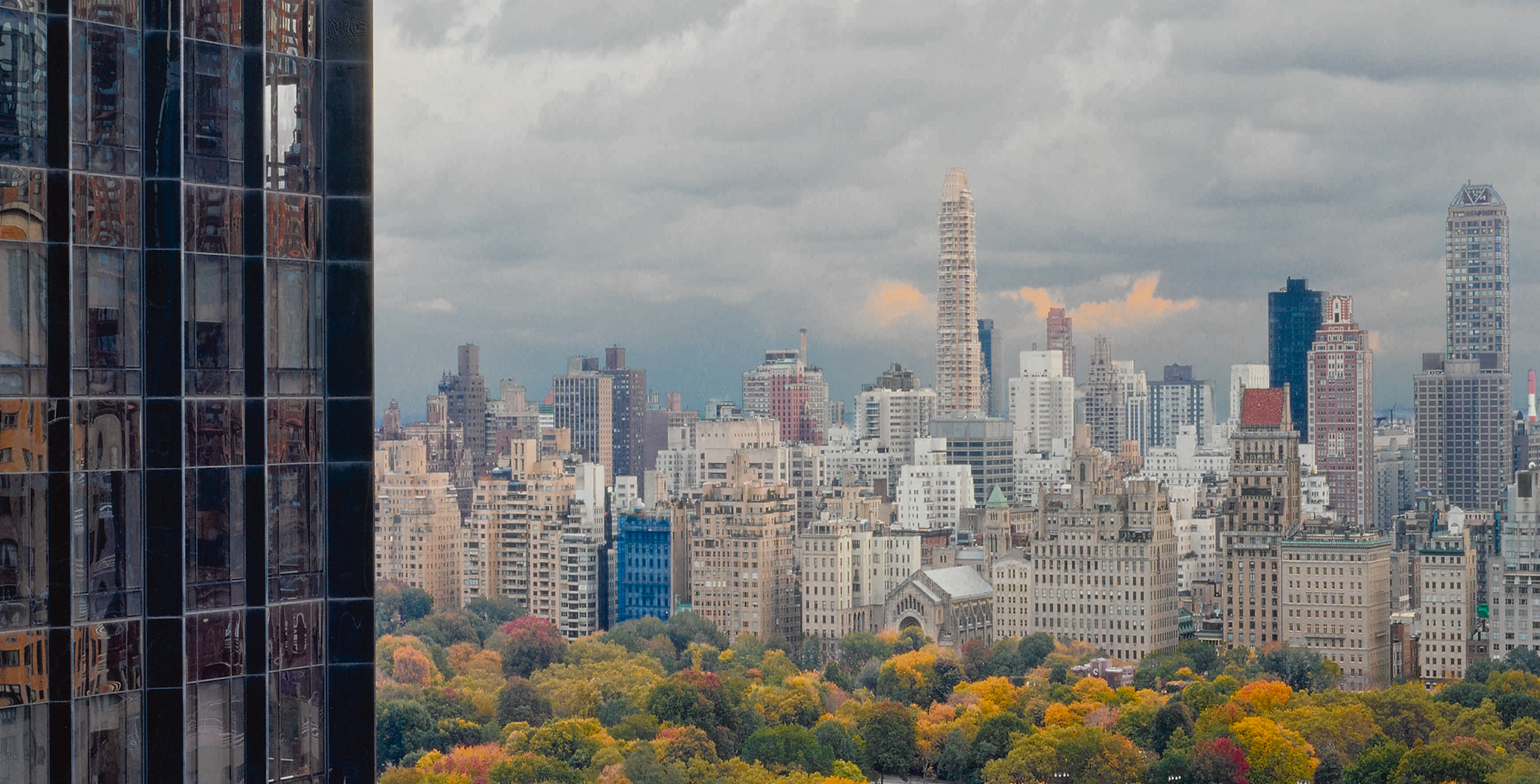 View of Central Park toward the East